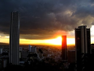 Bogota cityscape 2 | by lornapips