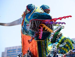 Art car dragon