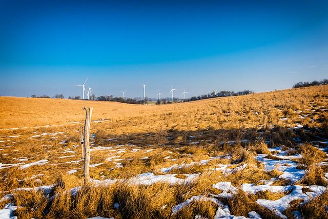 Wintertag auf dem Land