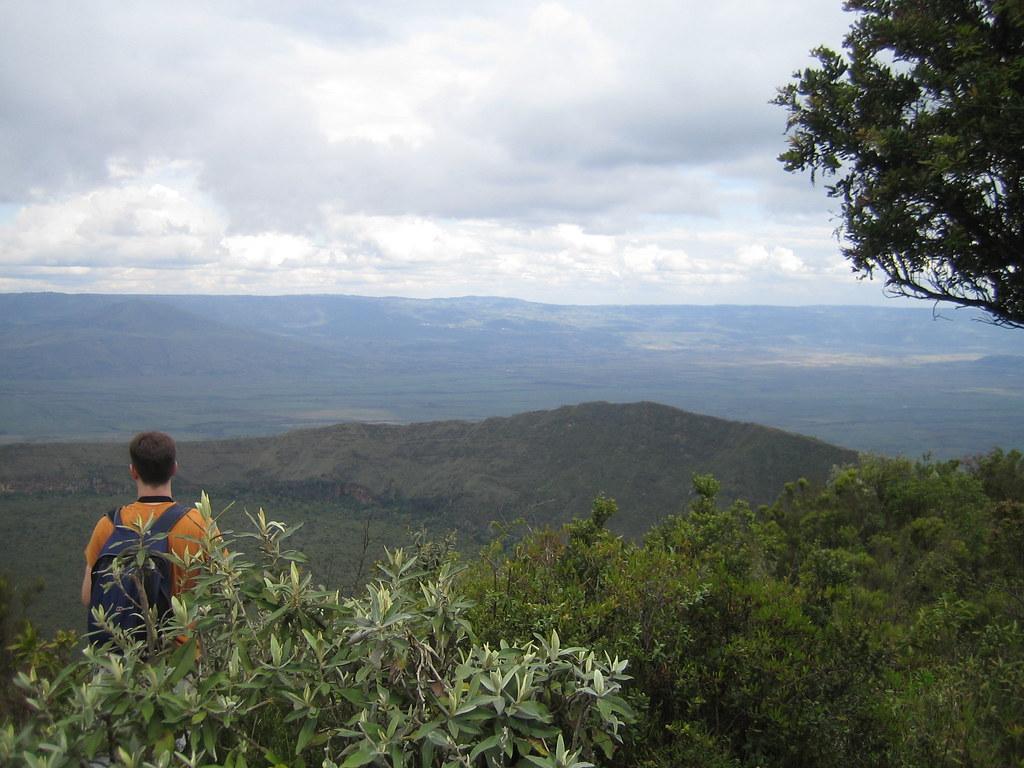 Climbing Mount Longonot