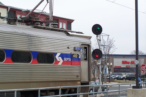 SEPTA R5 Train Gets the Green | by jpmueller99