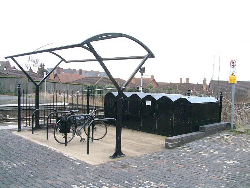 Great Malvern station, Dec. 2007