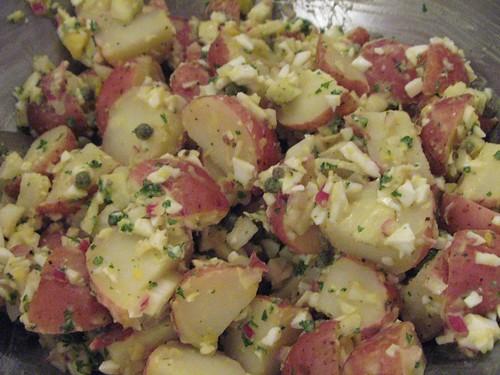 Lily's addicting potato salad | by SanFranAnnie