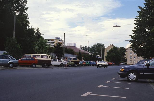 Nordostbad, Nürnberg, Mai 1989.