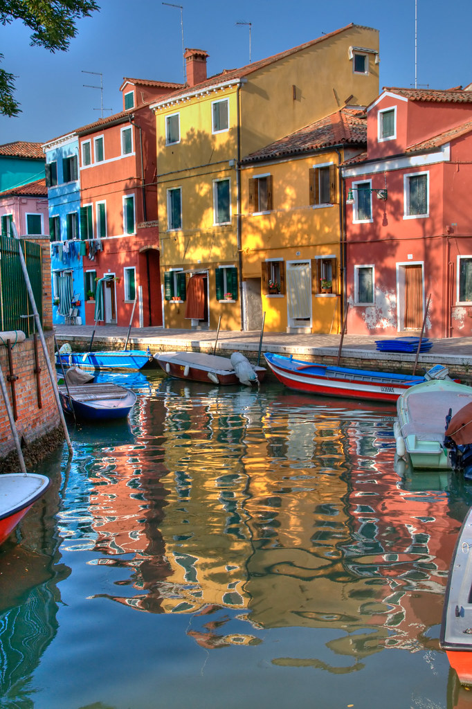 """Colors of Burano by Herve """"Setaou"""" BRY"""