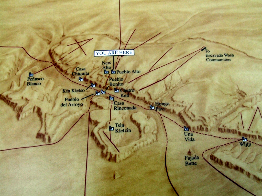 Chaco Canyon Map Chaco Canyon Map | This is a map of Chaco Canyon that is sit… | Flickr