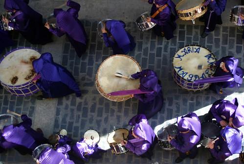 tambores calanda semana santa