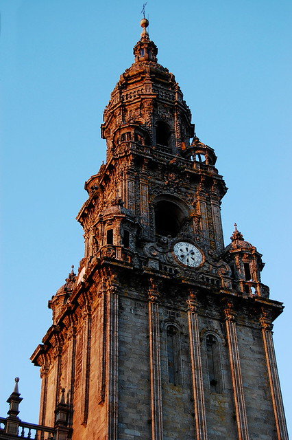 Santiago Cathedral (Sunset)