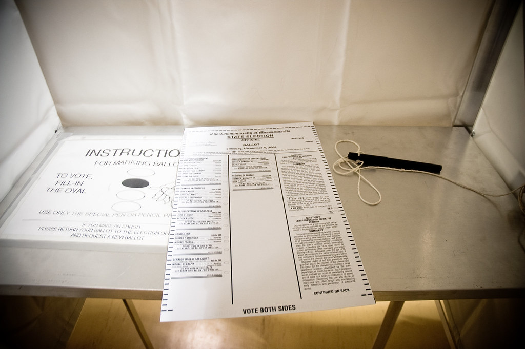 CC image ballot by Heather Katsoulis at Flickr