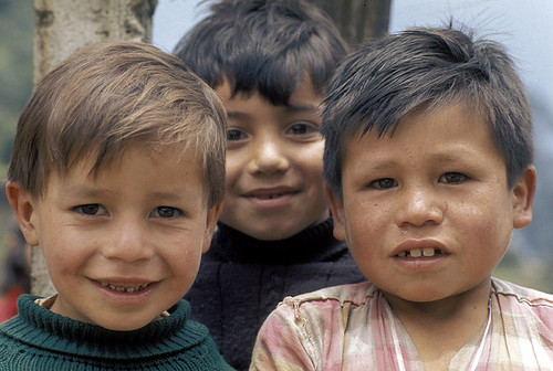 Portrait of three young boys Colombia | by World Bank Photo Collection