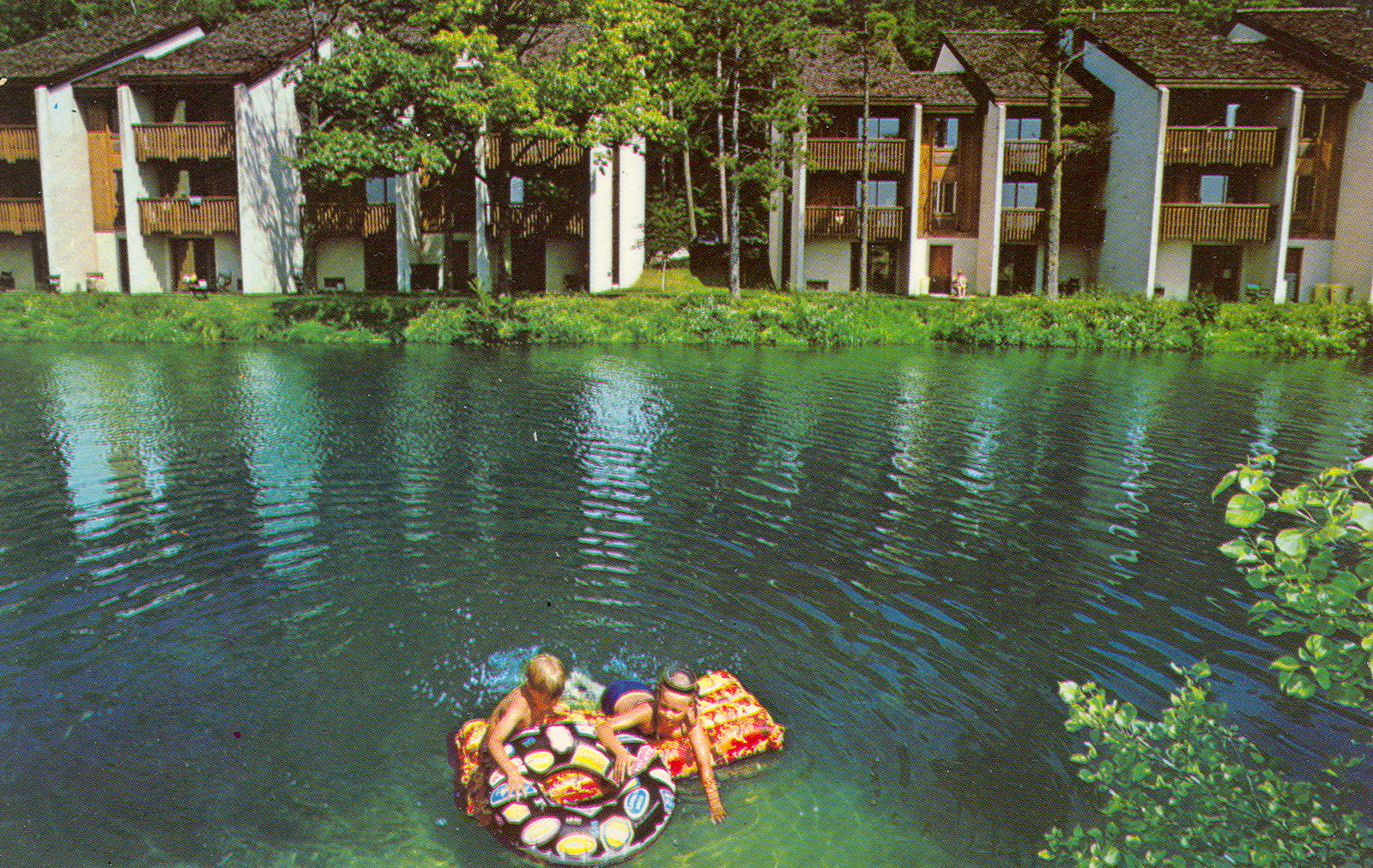 Leelanau Glen Arbor Homestead Resort Tall Timber Condos Card