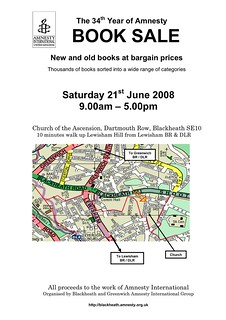2008 Book Sale Leaflet | by Eat your greens!