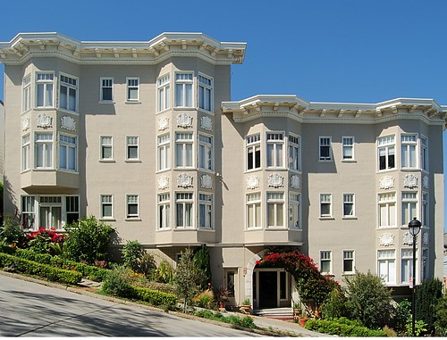 Duboce Houses   by Tolka Rover