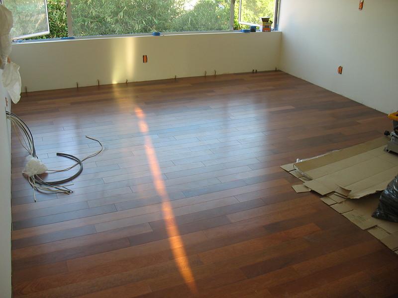Merbau floor