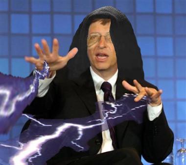 Emperor Gates   A Photoshop mod of Bill Gates as the Evil Em ...