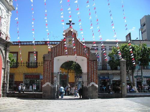 Puebla - Santo Domingo portico