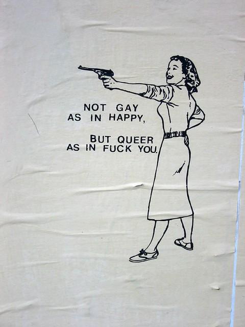 Jargon of gays lesbians