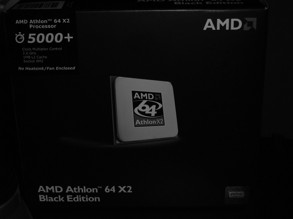 Amd Athlon 64 X2 5000 Black Edition Box Elisamuel Resto Flickr