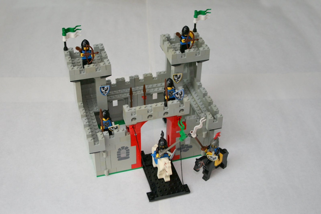 Legoland Knights Castle 6073 Lego Castle Set 6073 From Flickr