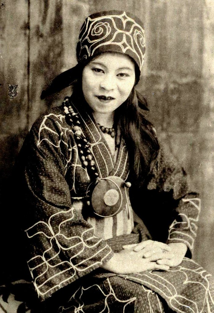 The Ainu Babe Of Old Hokkaido Japanese Citizen But Not