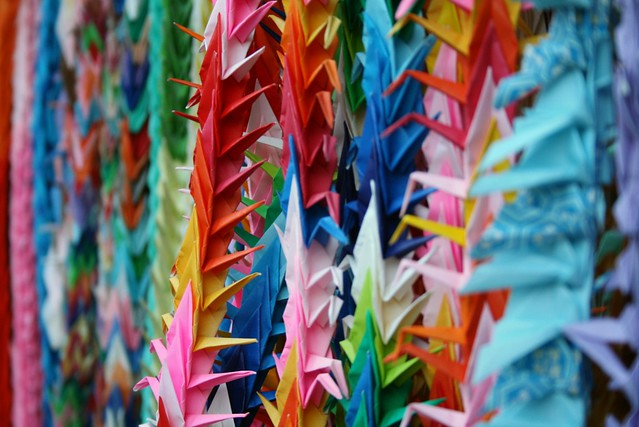 Cranes in Kyoto