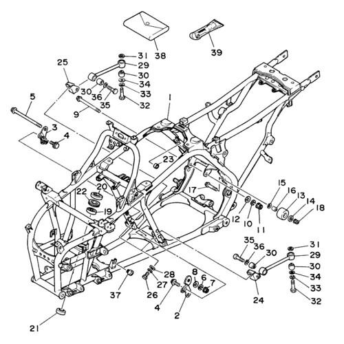 Yamaha Banshee Engine Diagram