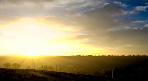 sunset sun landscape evening nikon warm europe hungary nap rich naplemente bold kaposvár somogy d80