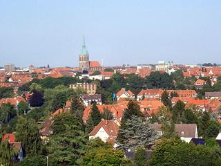 Hildesheim - Blick vom Berghölzchen