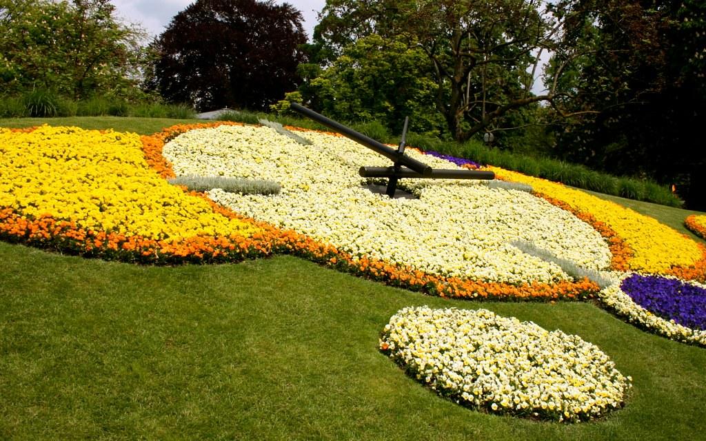 Le Jardin Anglais de Geneve