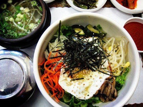 bibimbap : @ one of my fave hole in the wall korean eateries | by aiyah