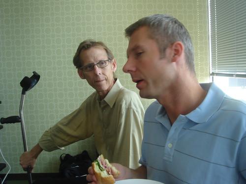 John and Nathan in NY