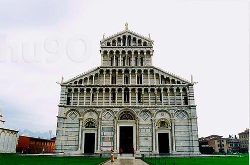 Portada de la Catedral de Pisa