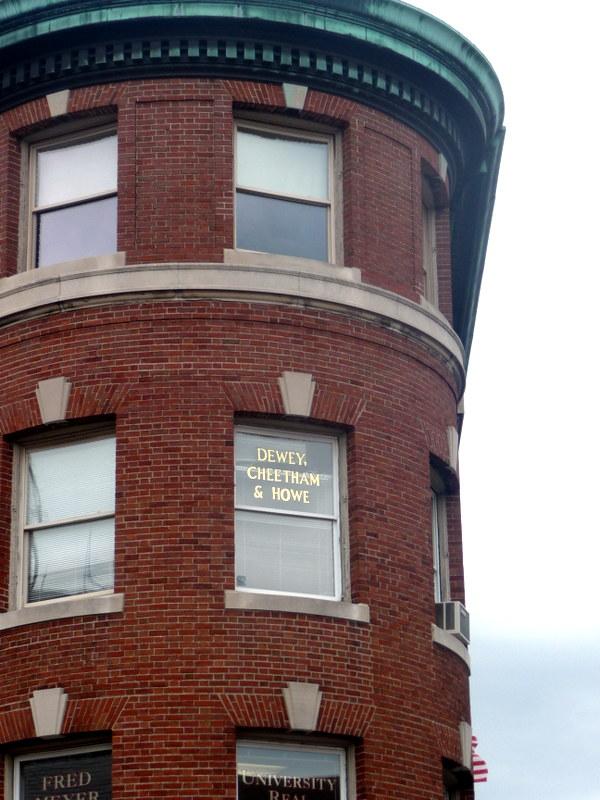 """Click & Clack"" 's Law Firm - Dewey Cheatem & Howe., Harvard Square, Cambridge MA"