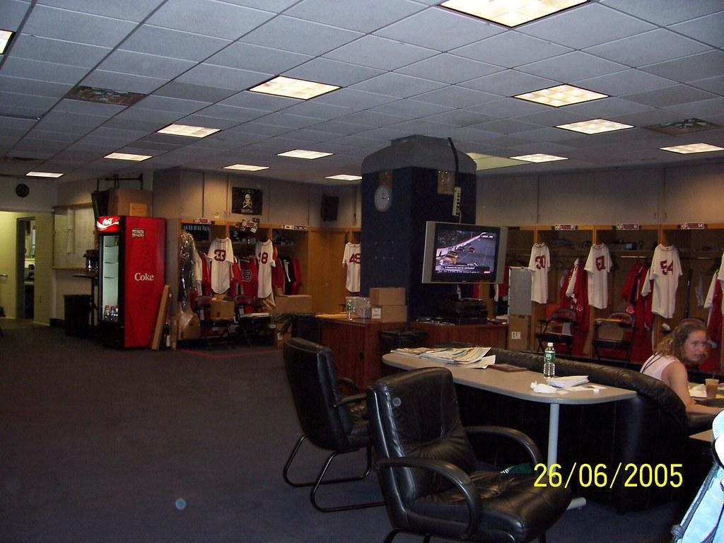 Brilliant Fenway Park Red Sox Locker Room Photoscream Flickr Dailytribune Chair Design For Home Dailytribuneorg