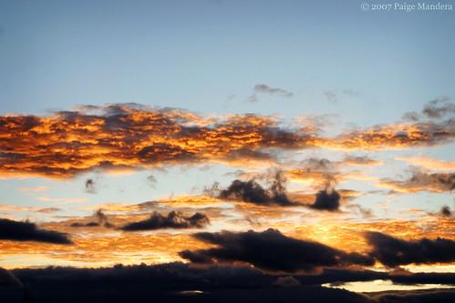 sunset sky canon montana 2007 paigelynn thebiggestgroup ©paigemandera