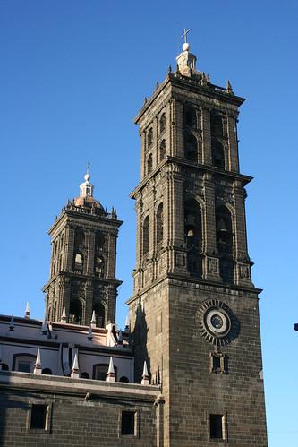 Torres, Catedral de Puebla