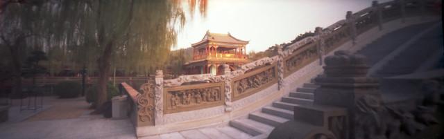 Baomo Garden - Pinhole Panorama