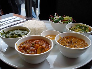 Vegetarian set lunch at Imli, Soho, London W1 | by Kake .