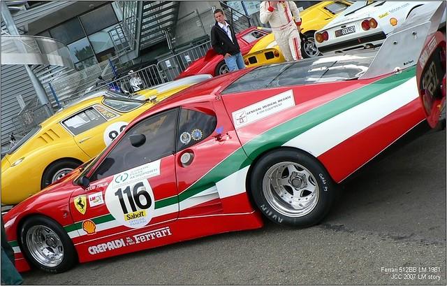 Le Mans Story 2007 Ferrari 512 BB LM 1981