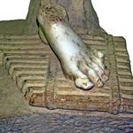 125.M useu de Ptolemaida. Fragment d'estàtua.