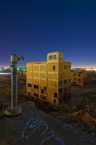 abandoned night wonderful ruins texas fort packing meat worth swift stockyards abigfave diamondclassphotographer