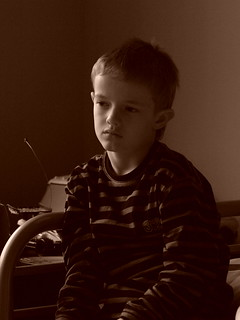 the sad boy | by dank71