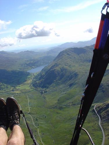Thu, 09/08/2007 - 16:11 - Nant Gwynant from above Moel Berfedd, Pic - Pete Bursnall