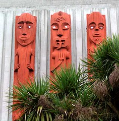 Carvings in the Square, Palmerston North | by Te Ara