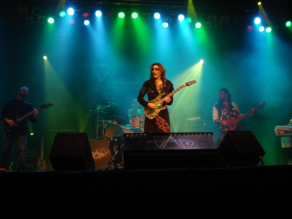 Steve Vai Rock Imagery