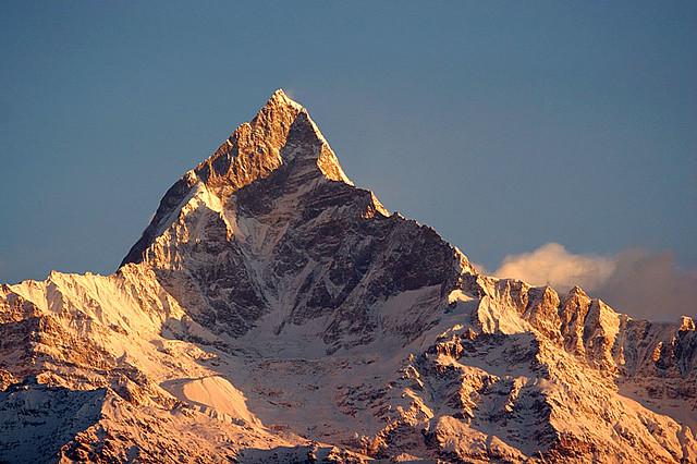 Machhapuchhre 6993m Anapurna Nepal Machhapuchhre 699 Flickr