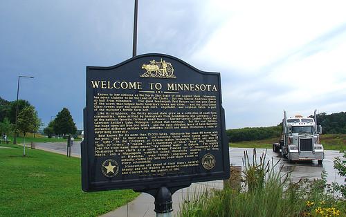 2005 vacation minnesota sign roadtrip september historical restarea i35 interstate35 historicalsign touristinformationcenter