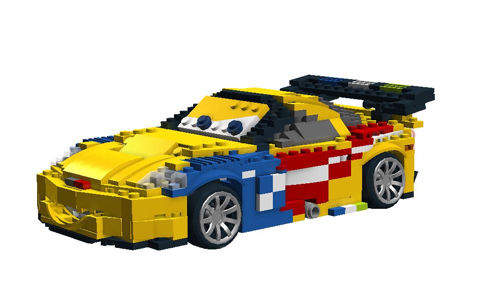 Jeff Gorvette Disney Pixar Cars 2 Movie Character Flickr