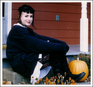 Me on the porch, late 1993 | by Anna @ D16