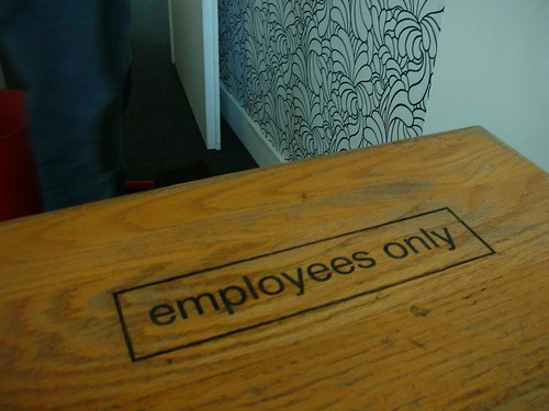 Employees only | by Guillaume Biau